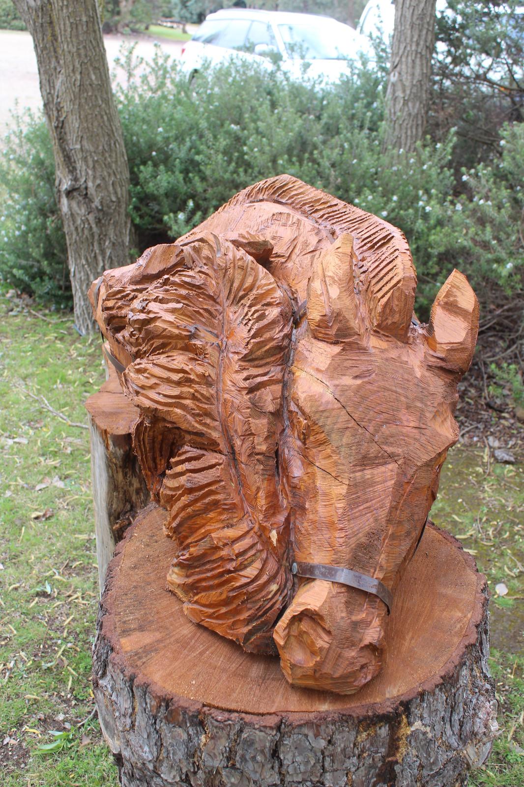 Castle carvings adam humphreys sculpture