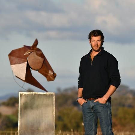 Picasso horse head and Adam