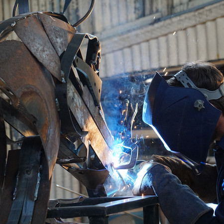 Welding with the BackTrack boys