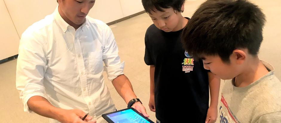 【富山県魚津市初開催】ドローンアプリプログラミングに小学生が挑戦!!