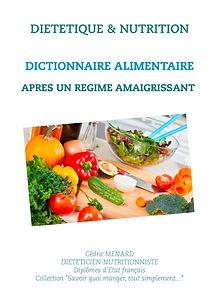 Livre dictionnaire alimentaire après une perte de poids