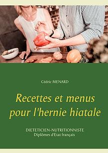Livre de recettes diététiques pour l'hernie hiatale