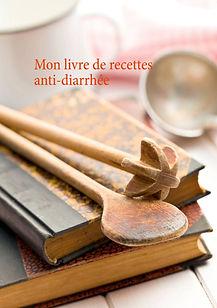 Livre de recettes vierge anti-diarrhée