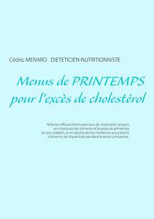 Menus de printemps pour l'excès de cholestérol