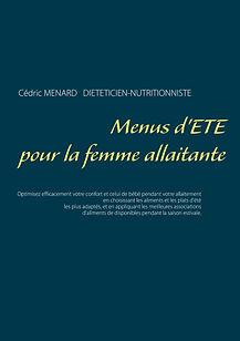 Livre de menus diététiques d'été pour la femme allaitante