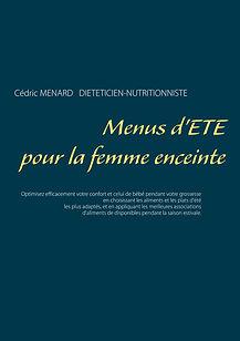 Livre de menus diététiques d'été pour la femme enceinte
