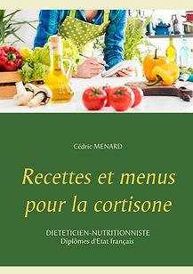 Livre de recettes diététiques pour la cortisone