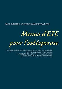 Livre de menus diététiques d'été pour l'ostéoporose