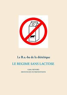 Livre de conseils nutritionnels pour le régime sans lactose