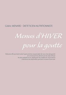 Livre de menus diététiques d'hiver pour la goutte