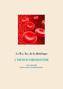 Livre de conseils nutritionnel pour l'hémochromatose