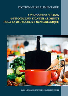 Dictionnaire des modes de cuisson pour la rectocolite hémorragique