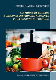 Dictionnaire des modes de cuisson pour l'angine de poitrine