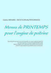 Livre de menus diététiques de printemps pour l'angine de poitrine