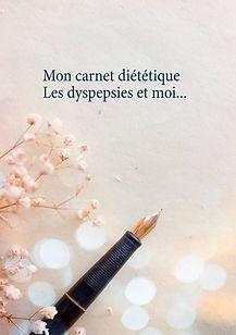 Journal diététique vierge pour les dyspepsies