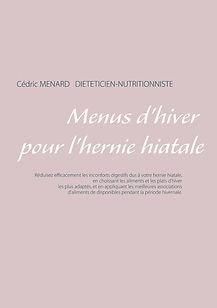 Livre de menus diététiques d'hiver pour l'hernie hiatale