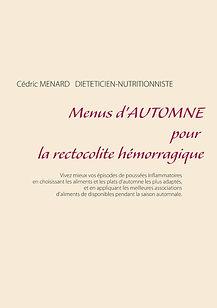 Livre de menus d'automne pour la rectocolite hémorragique