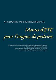 Livre de menus diététique d'été pour l'angine de poitrine