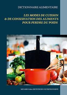 Livre dictionnaire des modes de cuisson pour la perte de poids