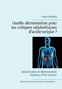 Livre de conseils diététiques pour les coliques néphrétiques uriques
