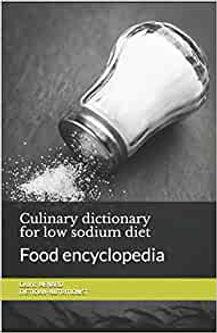 Dietetic book for low sodium diet