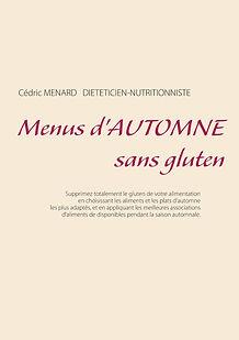 Livre de menus diététiques d'automne sans gluten