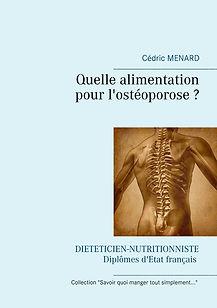 Livre de conseils diététiques pour l'ostéoporose