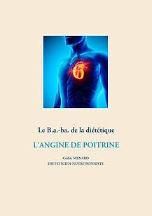 Livre de conseils nutritionnels pour l'angine de poitrine