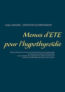 Livre de menus diététiques d'été pour l'hypothyroïdie