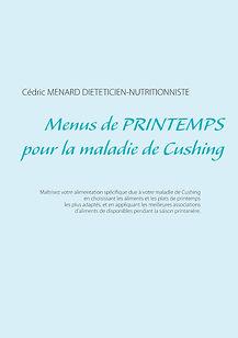 Livre de menus diététiques de printemps pour la maladie de Cushing