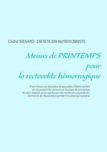 Livre de menus de printemps pour la rectocolite hémorragique