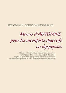 Livre de menus diététiques d'automne pour les dyspepsies