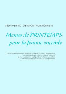 Livre de menus diététiques de printemps pour la femme enceinte