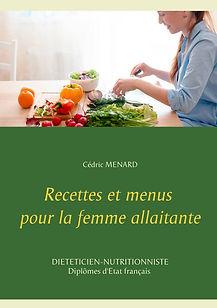 Livre de recettes diététiques pour la femme allaitante