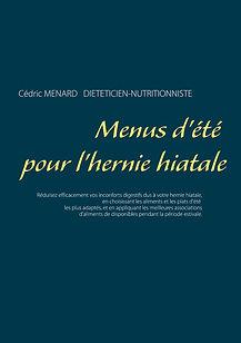 Livre de menus diététiques d'été pour l'hernie hiatale