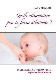 Livre de conseils diététiques pour la femme allaitante