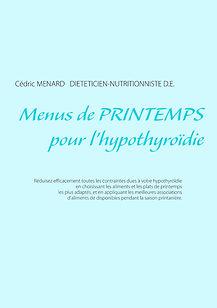 Livre de menus diététiques de printemps pour l'hypothyroïdie