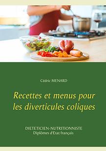 Livre de recettes diététiques pour les diverticules coliques