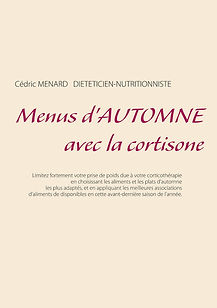 Menus d'automne pour la cortisone