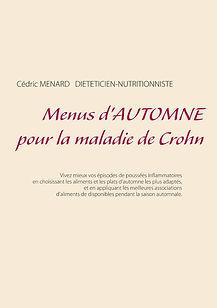 Menus d'automne pour la maladie de Crohn