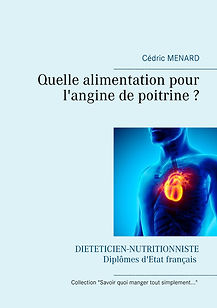 Livre de conseils diététiques pour l'angine de poitrine