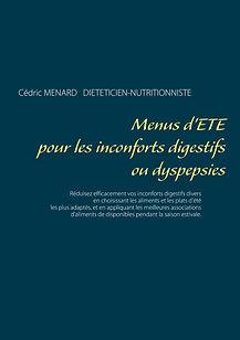 Livre de menus diététiques d'été pour les dyspepsies