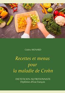 Livre de recettes diététiques pour la maladie de Crohn