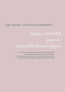 Livre de menus d'hiver pour la rectocolite hémorragique