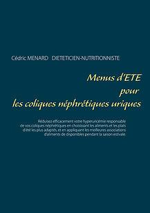 Livre de menus diététiques d'été pour les coliques néphrétiques uriques