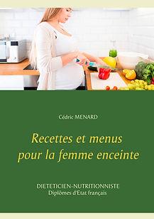 Livre de recettes diététiques pour la femme enceinte