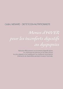 Livre de menus diététiques d'hiver pour les dyspepsies