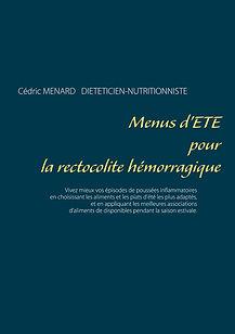 Livre de menus d'été pour la rectocolite hémorragique