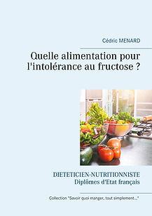 Livre de conseils diététiques pour la fructosémie