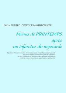 Livre de menus diététiques de printemps pour l'infarctus du myocarde